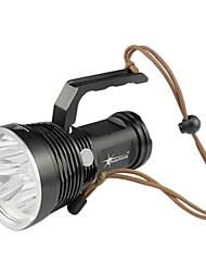 solarstorm воин CREE XM-L U2 5 * 3-режиме светодиодный фонарик (2600LM 3X18650 серый)