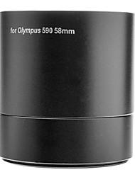 MASSA 58 milímetros Digital Camera Lens Adapter Filtro Tubo para OLYMPUS SP590