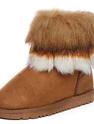 Women's Short Winter Boots with Fur