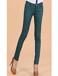 TS Skinny Bottom , Casual Cotton/Spandex/Polyester Stretchy