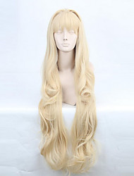 Cosplay Wigs Vocaloid SeeU Golden Long Anime/ Video Games Cosplay Wigs 80 CM Heat Resistant Fiber Female