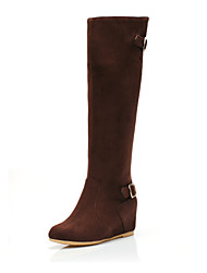 Suede  Knee-High Boots Casual Shoes (More Colors)