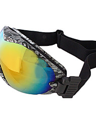 Unisex Colorful Double Lens Skiing Goggles