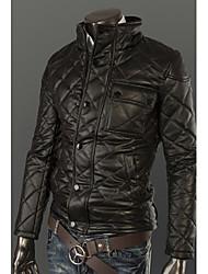 Coton Manteaux en cuir pour hommes