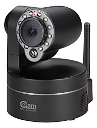coolcam - 300k pixel wireless pan tilt telecamera ip (visione notturna, iphone supportato), p2p