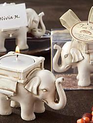 """2.5 """"Wedding Elefante Castiçal Estilo Candle"""
