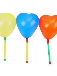 1PCS Light-up LED Loving Heart Balloon Konzert Props (zufällige Farbe)