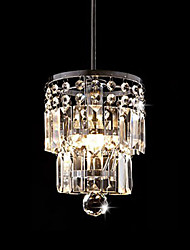 New Style 15Cm Luxury Crystal Chandelier Dining Room Pendant Light Ceiling Lamp