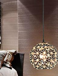 sl® cristal / Globo / mini estilo moderno luzes pingente electroplated quarto / sala de jantar