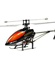 Дважды Верховая DH 9100 49см Сплав структуры, 3CH коаксиальный вертолет