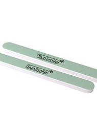 2PCS Nail Files Buffing Round Sandpaper Nail Art Acrylic UV Gel Tips