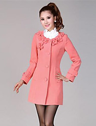 Women's Coats & Jackets , Others/Wool Casual BLJY