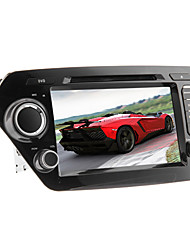 Android 2.3 8 polegadas no painel do carro dvd player para KIA K2 com 3G, GPS, Wi-Fi, RDS, IPOD, BT, TV