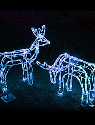 100-LED azul solar do tubo Luzes ao ar livre Decor Jardim Yard (cis-02166)