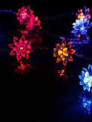 10-LED 1.2M vacances de Noël Décoration RGB LED Lumière de corde