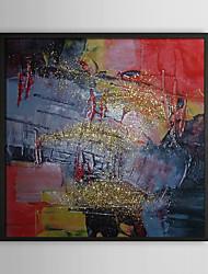 Gloire temps abstrait encadrée peinture à l'huile