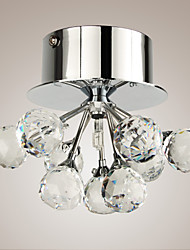 SL® K9 Crystal Flush Mount in Floral Shape (G4 Bulb Base)