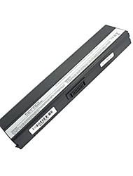 5200mAh remplacement de la batterie d'ordinateur portable pour Asus Z53 F6 F6E A31-F9 A32-F9-90 NER1B1000Y 90 NER1B2000Y - Noir