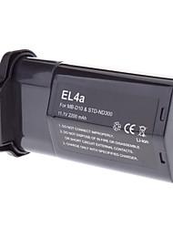 11.1V 2200mAh reemplazo Battery Grip para Nikon MB-D10/STD-ND300