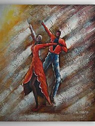 Hand Painted Oil Painting People Dancing with Stretched Frame 1310-PE1189