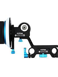 FOTGA Actualiza DP500IIS Uampen Follow Focus C DSLR HDSLR HDV 5DII III 15mm 7D Vara