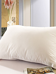100% Cotton Solid White Bed Pillow