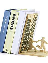 "9 ""Modern Style End Of Days Tilted Serre-livres"