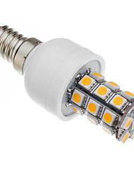 6W E14 LED a pannocchia T 27 SMD 5050 530-560 lm Bianco caldo AC 85-265 V