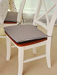"Chair Pad, Jacquard 15""*17"", Gingham"