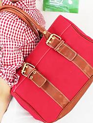 Borsa cuscino nuova sorella studente Canvas Shoulder Bag Tote Handbag