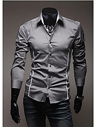 Men's Casual Shirts , Cotton LJCD
