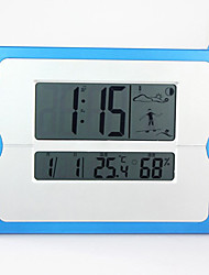 "10.25""Touch Screen Alarm Digital Snooze Countdown Clock"