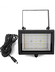 30-LED Solar Power Ultra Bright Garden Flood Spot Light Lawn Cool White Lampe