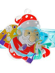 Kinder Weihnachtsmann Stil Blau Bands Spielzeug mit LED (zufällige Farbe)