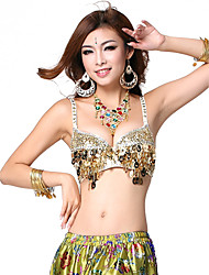 Dancewear Spandex Belly Dance Top para damas