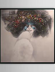 Женщина в маске Люди обрамленная картина маслом