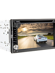 6.2Inch Universal 2 DIN In-Dash Car DVD player with GPS,BT,IPOD,ISDB-T,RDS,Touch Screen