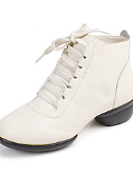 Women's Leather Dance Shoes For Ballroom Sneakers(More Colors)