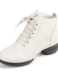 De las mujeres de cuero zapatos de baile para las zapatillas de deporte de salón (más colores)