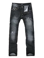 Jeans vaina con estilo de los hombres