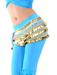 Belly Dance Belt Women's Training Polyester Beading / Coins