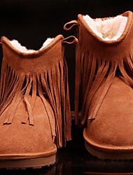 Damen Winter Tassel Short Boots
