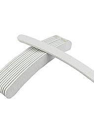 NAILCOLOR Arc-vormige Emery nagelvijlen (willekeurige kleur) NSJ007
