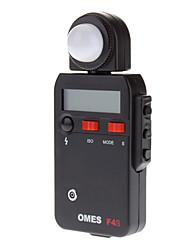"""OMES F4S 1.9 """"LCD Luz / Flash Meter - Preto"""