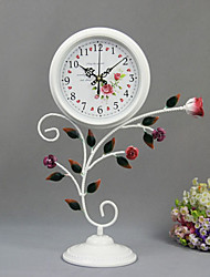 "18""Country Type Metal Analog Tabletop Clock"