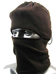 Thermal Fleece Black Balaclava Hood SWAT Ski Mask