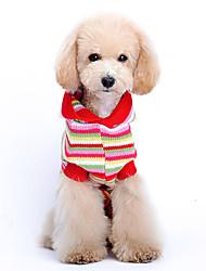 Зима Красный - Свитера - для Собаки - Сукно - XS / S / M / L / XL