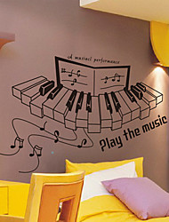 Musica Piano Wall Stickers