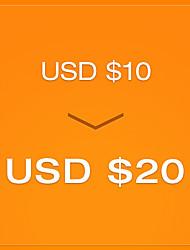 pagar R $ 10 para um cupom de US $ 20 - round2 (válido até 23 de dezembro para ordem de US $ 80)
