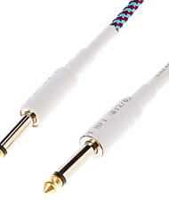 6,35 mm-Kabel für Gitarre aspecial Chord Patch-Effekt Gewebt Planet Wave-Cord (3M)